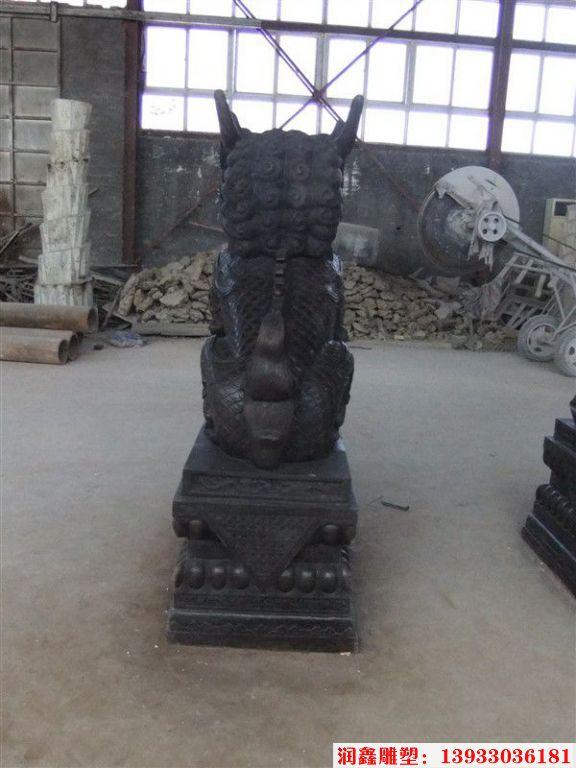 铜麒麟雕塑2