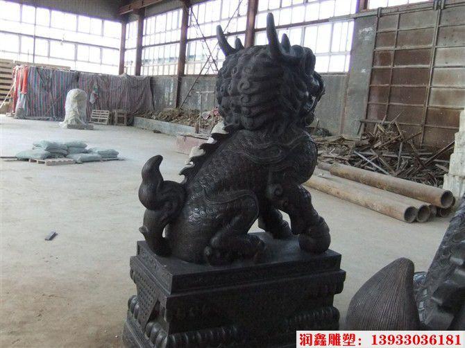 铜麒麟雕塑3
