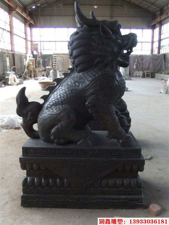 铜麒麟雕塑4