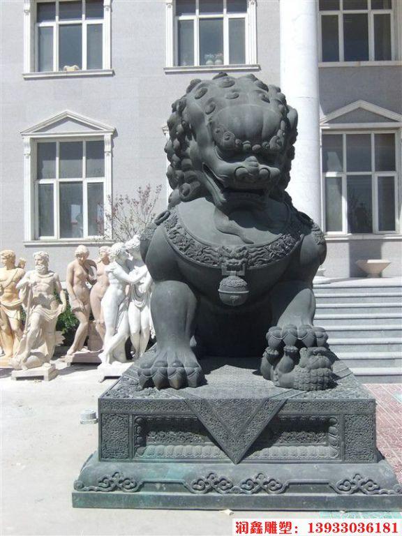 铜狮子雕塑