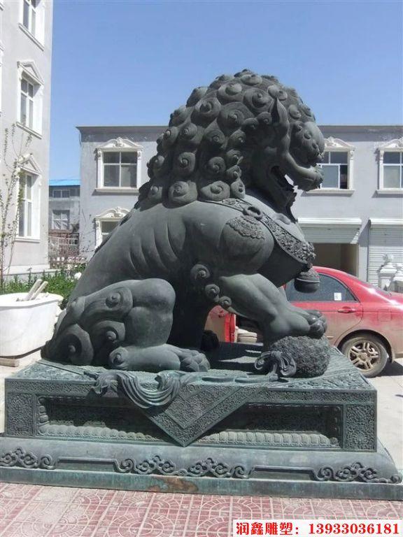 铜狮子雕塑12